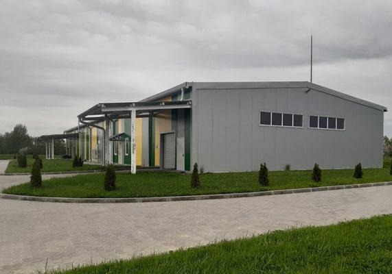 Новый объект на территории индустриального парка Экобалтик Пройден ещё один рубеж!