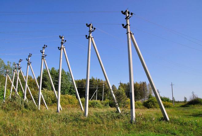 Новая линия электропередач для резидентов