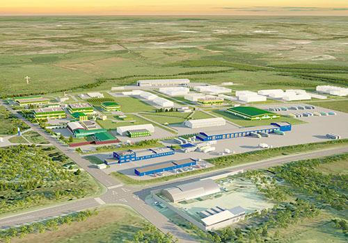 Территория бизнес-парка «Экобалтик» расширяется: новые площади для новых инвестпроектов